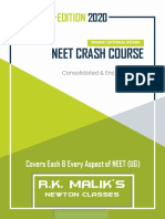 Complete NEET Crash Course PDF