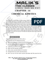 14. Chemical Kinetics