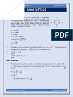 Magnetics (Practice Questions)