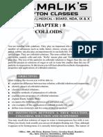 8. Colloids