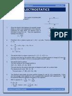 Electrostatics (Practice Questions)