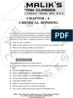 4. Chemical Bonding