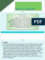 Computer Language (1)