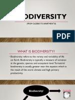 Biodiversity Gr 5