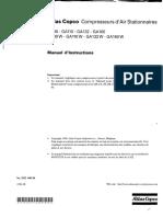 Manuel d'Instructions ATLAS COPCO