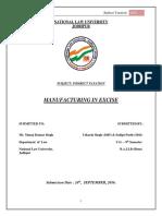 Indirect Tax Final Project - Utkarsh & Sudipt