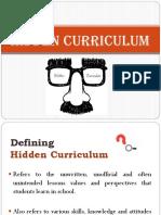 Hidden Curriculum (1)