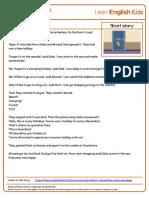 Short Stories the Lucky Envelope Transcript