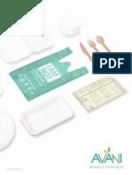New Avani Catalogue 2018-Product