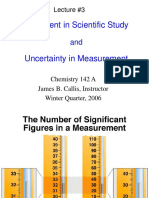 Measurement & Uncertainty