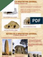 HISTORIA ARQ UNIV
