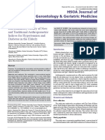 Discriminatory Ability of New and Traditional Anthropometric Indices for Hypertension and Diabetes