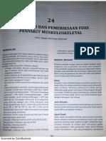 Anamnesis Dan Pemeriksaan Fisis Penyakit Muskuloskeletal