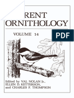 (Current Ornithology 14) Larry Clark (auth.), Val Nolan Jr., Ellen D. Ketterson, Charles F. Thompson (eds.)-Current Ornithology-Springer US (1997).pdf