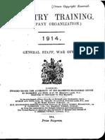 Infantry Training 1914