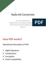 Radix 64 Conversion