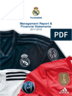 Managemant Report Real Madrid 17_18