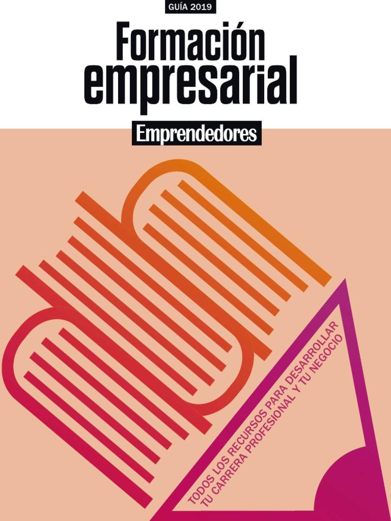 Calendario Urjc 2020 2019.Guia De Formacio N Emprendedores 261 1558951908 Pdf
