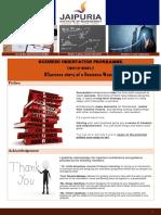 Business Orientation Programme- 2019