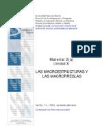 Macroestructuras y Macrorreglas de Vandijk2au3