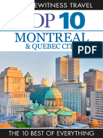 Montreal & Quebec City (DK Eyewitness Top 10 Travel Guides) (Dorling Kindersley 2014)