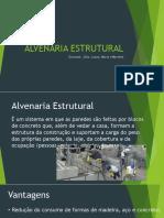 ALMENARIA ESTRUTURAL
