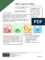 Quick Flu Facts (Burmese
