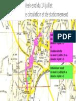 Restrictions Circulation We 14 Juillet