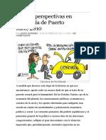 Crisis y perspectivas en economía de Puerto Rico