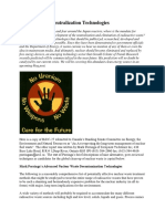 Nuclear Waste Neutralization Technologies