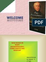 Review of Repertories