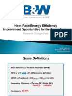 Heat Rate  Improvement