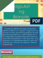 Pagsulat ng Bionote.pptx