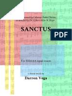 Sanctus - Full Score