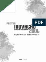 Prêmio Inovação Em Gestão Educacional 2006 Experiências Selecionadas