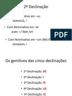 2ª Declinação - neutros.pptx