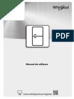 Manual combina frigorifica Whirlpool