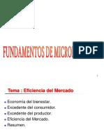 Eficiencia Del Mercado
