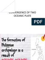 Convergence of Two Oceanic Plate