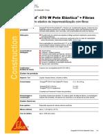 Sikagard 570 Pele Elástica Fibras v1 07.702