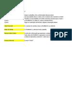 Dicar PROCV Formula Excel