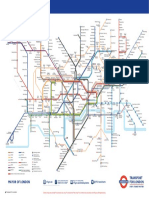 Tube Map With Tunnels