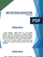 Motor Run Kapasitor Media