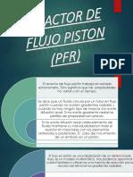 Reactor Flujo de Piston O Tubular(PFR)