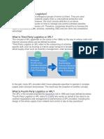 What is International Logistics
