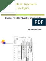 Foraminiferos Plactonicos