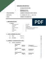 Memoria Descriptiva Acumulacion p.j. Florida Alta
