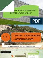 Diapositivas Presión Lateral de Tierra en Cortes Apuntalados
