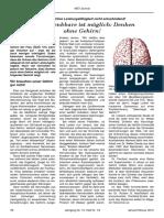 NET-Journal (Das Undenkbare ist möglich. Denken ohne Gehirn!)