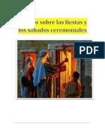 Estudio Completo de Las Fiestas y Sabados Ceremoniales